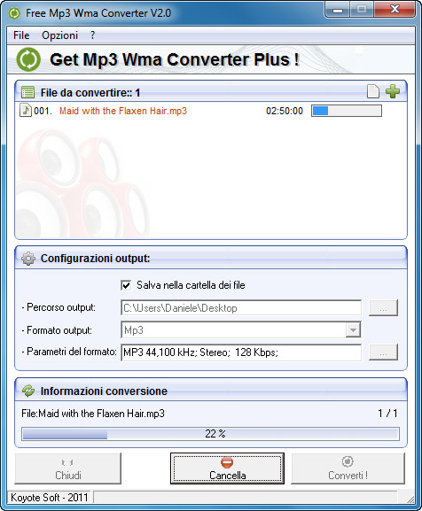 convertitore mp3 wma